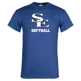Royal T Shirt-SE Softball