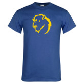 Royal T Shirt-Mascot Head