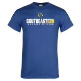 Royal T Shirt-Southeastern Savage Storm Flat