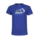 Youth Royal T Shirt-New Primary Logo