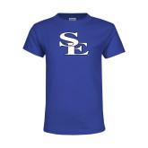 Youth Royal T Shirt-Breakout SE