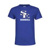 Youth Royal T Shirt-SE Baseball