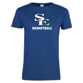 Ladies Royal T Shirt-SE Basketball