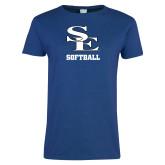 Ladies Royal T Shirt-SE Softball