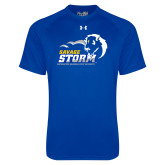 Under Armour Royal Tech Tee-New Primary Logo