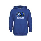 Youth Royal Fleece Hoodie-Baseball