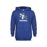 Youth Royal Fleece Hoodie-SE Football