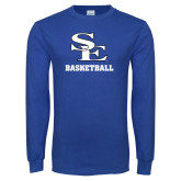 Royal Long Sleeve T Shirt-SE Basketball