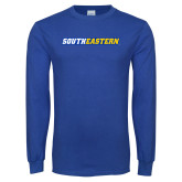 Royal Long Sleeve T Shirt-Southeastern Flat