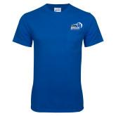 Royal T Shirt w/Pocket-New Primary Logo