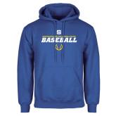 Royal Fleece Hoodie-Savage Storm Baseball Icon