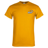 Gold T Shirt-New Primary Logo