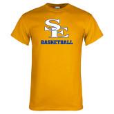 Gold T Shirt-SE Basketball
