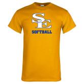Gold T Shirt-SE Softball
