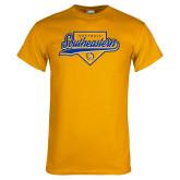 Gold T Shirt-Southeastern Softball Script
