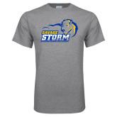 Grey T Shirt-New Primary Logo