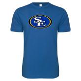 Next Level SoftStyle Royal T Shirt-SE Primary Logo