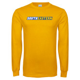 Gold Long Sleeve T Shirt-Southeastern Flat