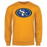 Gold Fleece Crew-SE Primary Logo