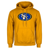 Gold Fleece Hoodie-SE Primary Logo