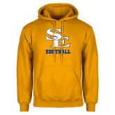 Gold Fleece Hoodie-SE Softball