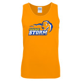 Gold Tank Top-New Primary Logo