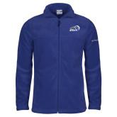 Columbia Full Zip Royal Fleece Jacket-New Primary Logo Embroidery