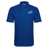 Royal Textured Saddle Shoulder Polo-New Primary Logo Embroidery
