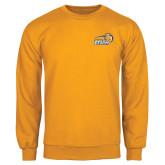 Gold Fleece Crew-New Primary Logo Embroidery
