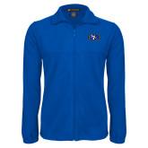 Fleece Full Zip Royal Jacket-SE Primary Logo