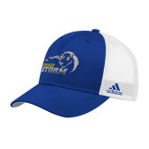 Adidas Royal Structured Adjustable Hat-New Primary Logo Embroidery