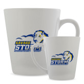 Full Color Latte Mug 12oz-New Primary Logo