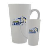 Full Color Latte Mug 17oz-New Primary Logo