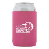 Neoprene Hot Pink Can Holder-New Primary Logo