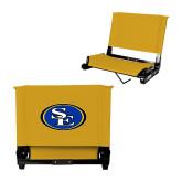 Stadium Chair Gold-SE Primary Logo