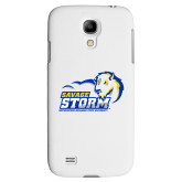 White Samsung Galaxy S4 Cover-New Primary Logo