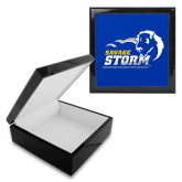 Ebony Black Accessory Box With 6 x 6 Tile-New Primary Logo