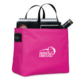Tropical Pink Essential Tote-New Primary Logo Embroidery