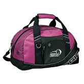 Ogio Pink Half Dome Bag-New Primary Logo Embroidery
