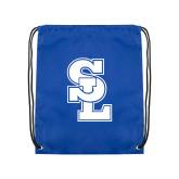 Royal Drawstring Backpack-Primary Mark