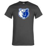 Charcoal T Shirt-Bear Head