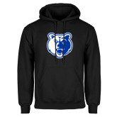 Black Fleece Hoodie-Bear Head