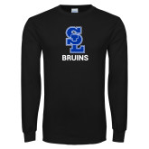 Black Long Sleeve T Shirt-SL Bruins