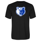 Performance Black Tee-Bear Head