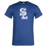 Royal T Shirt-SL Distressed