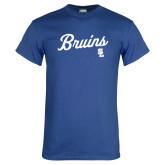 Royal T Shirt-Bruins Script