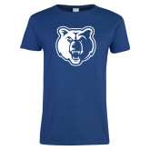 Ladies Royal T Shirt-Bear Head