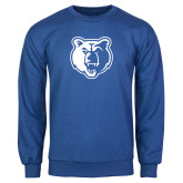Royal Fleece Crew-Bear Head