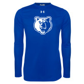 Under Armour Royal Long Sleeve Tech Tee-Bear Head