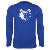 Performance Royal Longsleeve Shirt-Bear Head